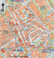 rotterdam netherlands metro map delft map detailed city and metro maps of delft for