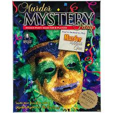 Murder Mystery Dinner Party Kit Murder Mystery Party Gamemurder At Mardi Gras Walmart Com