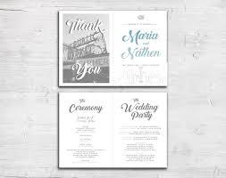 folded wedding program 32 best bi fold wedding programs images on card stock
