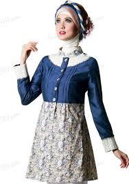 desain baju gamis hamil 12 gamis batik muslimah trend masa kini butikmuslimin baju gamis