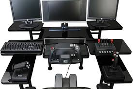 Pro Gaming Desk Pro Gaming Table Uncrate