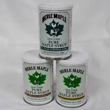8 pack tins maple syrup dark color with robust taste formerly