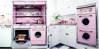 Vintage Laundry Room Decorating Ideas by Pink Retro Kitchen Decorating Ideas Vintage Kitchen Decor