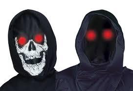 halloween skeleton mask lite up phantom skeleton mask assortment halloween