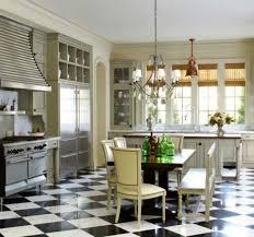 Black And White Ceramic Floor Tile Kitchen With White Cabinets And Ceramic Floor Tiles Cleaning