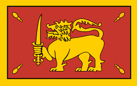 Lion Flag File Flag Of The King Of Kandy In 1815 Svg Wikimedia Commons