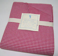 Red Gingham Duvet Cover Pottery Barn Gingham Duvet Covers U0026 Bedding Sets Ebay