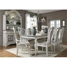 antique white 5 piece dining set magnolia manor rc willey
