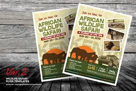 zoo brochure template wildlife safari flyer templates by kinzi21 graphicriver