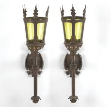 torch sconce wrought iron sconce torch style antique unique best
