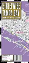 Map Of St Petersburg Florida by Streetwise Tampa Map Laminated City Center Street Map Of Tampa