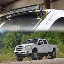 Truck Bed Light Bar 54 Inch Curved Light Bar Mount For Ford F 250 F 350 Cold As Steel