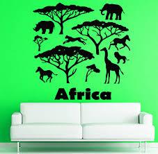 popular wild horse wall mural buy cheap wild horse wall mural lots africa animal vinyl wall decal africa wild animals elepant horse tree mural art wall sticker bedroom