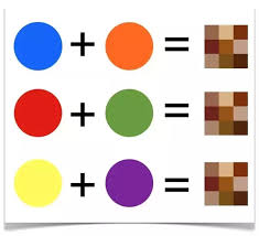 what colors make purple which colors combine to make brown quora