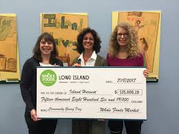 Soup Kitchen Long Island by Whole Foods Market Long Island Donates 15 806 To Island Harvest