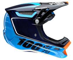 sixsixone motocross helmet 100 aircraft carbon downhill mtb helmet bi turbo blue matt