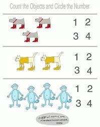 worksheet preschool numbers ziggity zoom