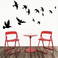 Wall Art Images Home Decor Flying Pigeon Bird Wall Art Stickers Decal Diy Home Decoration