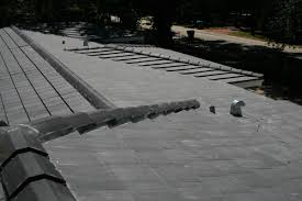 Flat Concrete Roof Tile Roof Repairs U0026 New Roofs In Miami Charcoal Flat Cement Roof Tile