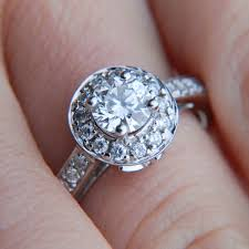 engagement rings with halo what is a halo ring jewelry wise