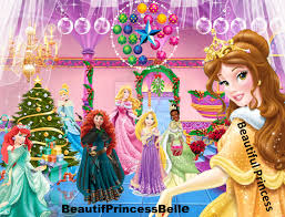 disney princesses merry christmas 2013 beautifprincessbelle