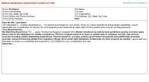research assistant job title docs