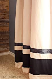 Ikea Textiles Curtains Decorating Customizing Ikea Curtains And A Diy Industrial Curtain Rod 1 2