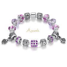 european silver charm bracelet images Murano glass silver charm bracelet amosh european jewellery jpg