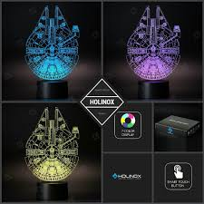 amazon com millennium falcon star wars lighting gadget lamp decor
