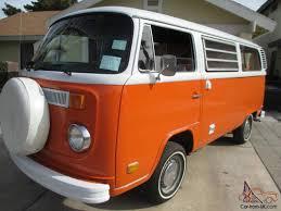 1974 volkswagen bus vw westfalia tintop weekender camper bus