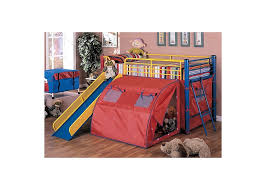 Bunk Bed With Slide And Tent Bunkbed W Slide Tent S S Furniture Inc