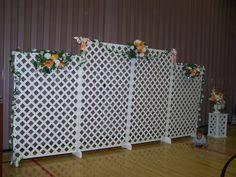 Wedding Backdrop Lattice Lattice Backdrop Refreshment Tables Wedding Ideas Pinterest