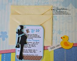 mod baby shower handmade modern mod baby shower invitations jingvitations