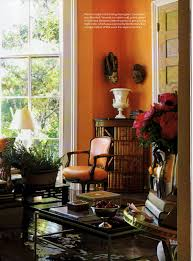 orange walls ned marshall interior design z project 12