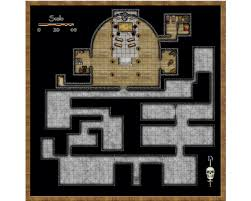 dungeon floor plans in the beginning clueless cartography