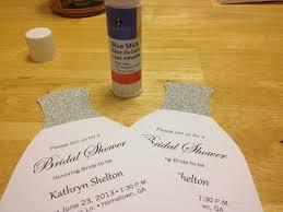 Make Your Own Bridal Shower Invitations Bridal Shower Invitation Paper Vertabox Com