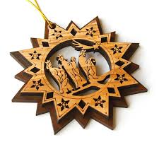 original olive wood christmas ornaments george kouz store