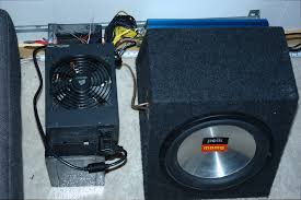 kenwood subwoofer home theater diy subwoofer amplifier power supply from an old atx psu