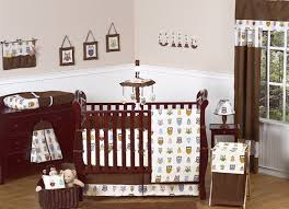 Boy Owl Crib Bedding Sets Brown Owl Baby Nursery Bedding Set 9pc Baby Boy Owl Crib Collection