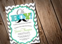 mustache baby shower invitations printable digital oh boy mustache baby shower invitation