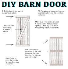 Installing A Sliding Barn Door Sliding Barn Door Installation Instructions Saudireiki