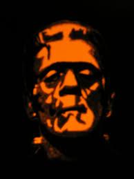 halloween movie pumpkin 15 boris karloff as the frankensteins monster jpg