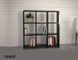 storage bookcase with modular design expand furniture