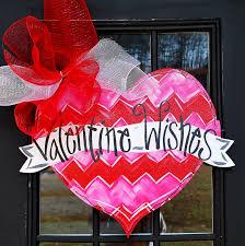 Valentine S Day Heart Decor by Valentine Heart Door Hanger Be Mine Valentine Valentines Day