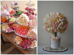 table enfant mariage bar à bonbons et arbre à bonbons pour les enfants astuce déco