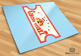 stickers for kids circus ticket 4 stickers for kids circus ticket 4