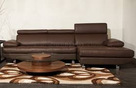 sectional sofa by beverly hills in light brown leather