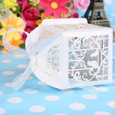 aliexpress com buy 25 pcs lot laser cut bird wedding favors