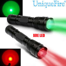 green light for hog hunting uniquefire 300 lumen 502b xre green and red led coyote hog hunting