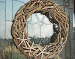 coastal wreath etsy
